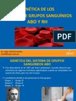 Genetica de Los Grupos Sanguineos
