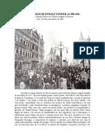 A Viagem de Rudolf Steiner Ao Brasil