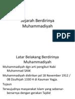 Sejarah Berdirinya Muhammadiyah.pptx