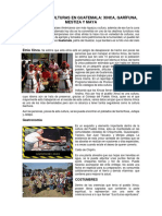 Las Cuatro Culturas en Guatemala