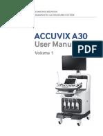 Echographie accuvix A30 SAMSUNG MEDISON rifmedical