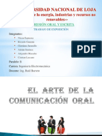 Zel Arte de La Comunicación Oral