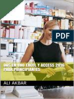 Excel y acces 2016