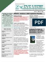 2005 Issue #5 Bird's Eye View Newsletter Washington Audubon Society