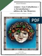 Aristofanes-Los Acarnienses-Los Caballeros-Las Tesmoforias-La Asamblea de Las Mujeres (Tr Francisco Rodriguez Adrados, Ediciones Catedra, 2000)