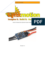 Lynxmotion Simonk Esc Guide
