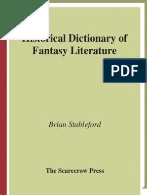 Historical_Dictionary_of_Fantasy_Literature pdf | King