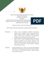 Perubahan Atas Peraturan Badan Pengawas Pemilihan Umum Nomor 18 Tahun 2017 Tentang Tata Cara Penyelesaian Sengketa Proses Pemilihan Umum 0