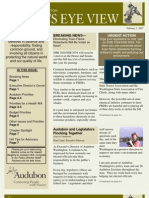2007 Issue #3 Bird's Eye View Newsletter Washington Audubon Society