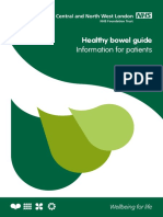 Healthy Bowel- Patient Information Leaflet