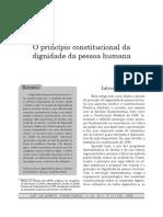O princípio constitucional da dignidade da pessoa humana.pdf