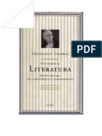 Umbral Francisco - Diccionario De Literatura