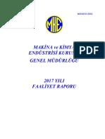 MKEK 2017 Faaliyet Raporu