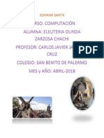 SEMANA SANTA- Olinda Zarzosa