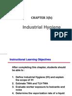(3)(b) Industrial Hygiene May 2017