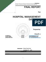 Hospital management system report