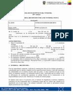 Miduvi Acta de Ent Recepcion Construccin en Terreno Propio