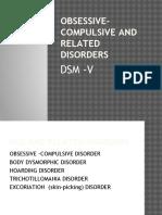 OCD - DSM V