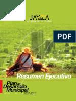 Plan de Desarrollo Municipal Resumen Ejecutivo