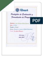 Portafolio Digital Formulación y Evaluación de Proyecrtos