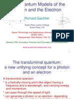 Quantum models