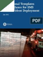 Templates Guidance Ems Mass Incident Deployment