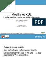 Mozilla et XUL Interfaces