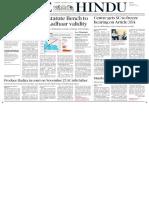 Hindu News paper 2017