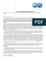 Pseudotime Calculation in Low Permeability Gas Reservoirs