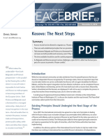PB 67 - Kosovo the Next Steps