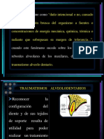 7.- TRAUMATISMOS  ALVEOLODENTARIOS