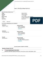 Kellner v. the City of New York Et Al
