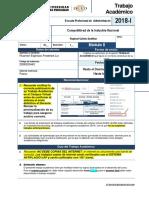 Fta-2018-1-m2 - Competitividad de La Industria Nacional