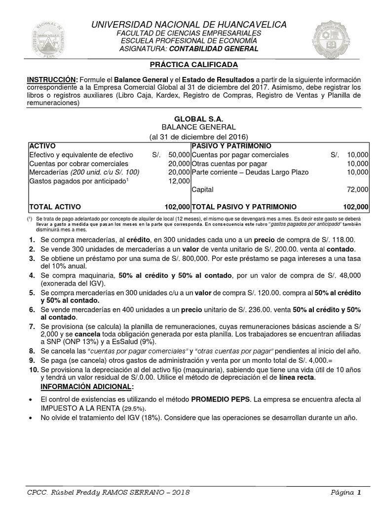 Contemporáneo Planilla Contable De Cuentas Por Cobrar Componente ...