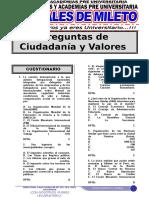 Ciudadania y Valores 2018 - 3