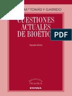 Cuestiones Actuales de Bioetica
