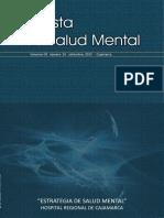 Revista de Salud Mental HRC 2012