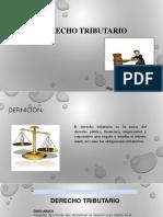 2. Derecho Tributario. Definicion. Ramas(1)