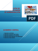 CLASIFICACIÓN DE LOS TRIBUTOS SEGÚN SU ADMINISTRACIÓN.pptx