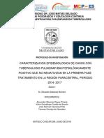 Caracterizacion Epidemiologica de Casos Con Tuberculosis