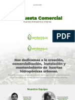 Propuesta verde hidroponia