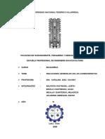 BIOQUIMICA- Informe de Reacciones Generales de Los Carbohidratos