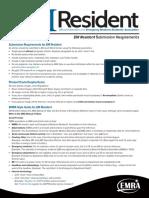 EM Resident Magazine Publishing Guide