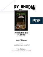 perry rhodan  p 406 Noticias Do Futuro Clark Darlton