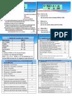 Informe de Proyeccion Total