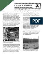 January-February 2007 Willapa Whistler Newsletter Willapa Hills Audubon Society