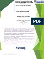 Pedro Julio Cruz Martinez Act. 4 Objetos de Aprendizajes