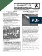 July-August 2007 Willapa Whistler Newsletter Willapa Hills Audubon Society
