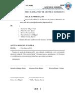 Informe N 01 Laboratio de Fluidos e Hidraulica