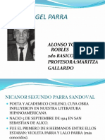 Poeta Angel Parra Alonso